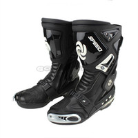 motocross gear - 2014 New Motorcycle Sports Boots PRO BIKER SPEED BIKERS Breathable Motocross Racing Motorbike Riding Boots Shoes Protective Gear