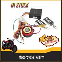 Wholesale 125DB Durable ABS Plastic Oval Alarm Host Machine System Engine Start Security Safety Fit for V Honda Suzuki Kawasaki Yamaha Motorcycles
