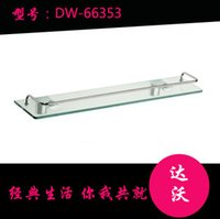 Wholesale Davao Wenzhou single frosted glass bathroom vanity versatile shelving storage rack