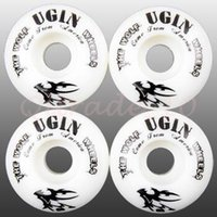 Wholesale 300set CCA2977 High Quality X UGIN Classic The Wolf Series Pro Skateboard Wheels mm x mm Resilient PU Scooter Parts