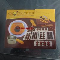 Wholesale Chocolatiere Household DIY electric chocolate melting pot candy melt chocolate cheese boiler
