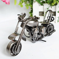 bicycle materials - Metal Material Motorcycle Model Handicrafts Children Model Toys Styles Mixed Delivery FedEx