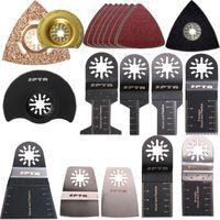 Wholesale 38 Mix oscillating multi tool saw blades for FEIN BOSCH Dremel Makita Skil