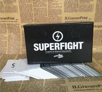 Wholesale 2016 SUPERFIGHT Card Core Deck Superfight Card Superfight Game Hallowmas Christmas Gift