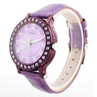 authentic vintage dresses - Authentic Korea Design Julius Brand fashion casual Women roman numerals luminous leather strap vine diamond dress watch JA486