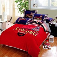 brand bedding sets - Luxury brand bedding comforter set king queen size cartoon duvet cover bedspread bed in a bag sheet western style bedroom quilt linen cotton
