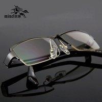 aluminium and magnesium - ITISF4 itisf4 Men high quality aluminium and magnesium alloy ultra light myopia frame optical fashion glasses frame cx6110