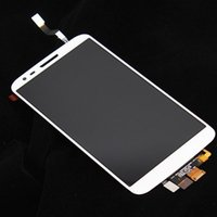 Wholesale White LCD Dispaly with Touch Screen Digitizer Assembly For inch LG Optimus G2 D802 D805