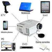 hdmi mini projector - 2016 Mini Multimedia D P LED Projector Home Theater Laptop PC VGA USB HDMI AV SD