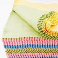 Wholesale Microfiber cleaning cloth wiping cloth camera screen seamless super absorbent cloth glasses