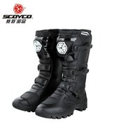 authentic riding boots - Authentic race plume motorcycle riding off road boots shoes popular brands of men racing shoes breathable motorcycle boots