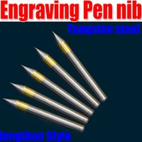 Wholesale Tungsten steel Engraving Pen nib Fountain Pen nib Engraving pen Drill Head Lettering extended version order lt no trac