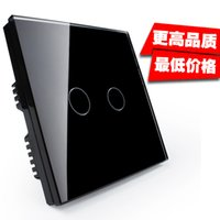 Wholesale Touch switch module intelligent touch wall switch LED dual control Road glass panel