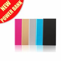 Wholesale Luxury Matte Polymer Super Slim Power Bank mah Portable Charger External Battery mah Mobile Phone Backup Powers