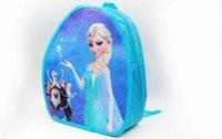 Wholesale 2014 Children New Girls Bag Frozen Elsa Princess Cartoon Lovely Bag Kids Children School Bags