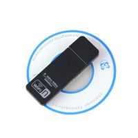 achat en gros de wifi booster de signal portable-Gsm Signal Booster Wifi 1pcs Nouveau Design Double Band Mini Usb Routeur 300mbps Adaptateur 300m Computer Lan Card Antenne Wi Fi pour Ordinateur de Bureau