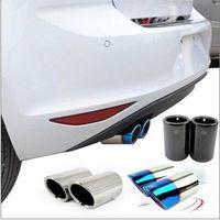 Wholesale PQ car styling exhaust pipe car covers for Volkswagen golf golf mk mk7 Tiguan Scirocco Lavida Sagitar T TSI