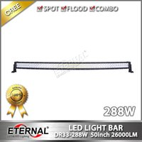 26000lm utv - 288W in radius led light bar high power x4 off road Jeep Toyota Nissan ATV UTV led light bar with super brightness