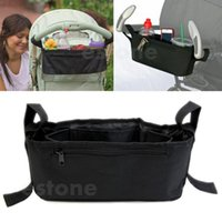 Wholesale Stroller Drink Parent Tray Pram Console Organizer Double Cup Holder Phone Jogger order lt no track