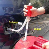 Wholesale Portable Car Manual Hand Siphon Pump Hose Gas Oil Liquid Syphon Transfer Pump order lt no track