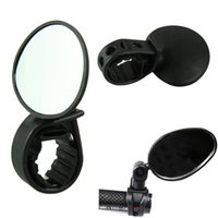 Wholesale Stylish Bicycle Cycling Handlebar Rubber Rearview Mirror degree Rotate Accessories