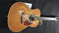 cedar - ebony fretboard fishman eq New OMJM John Mayer Guitar Natural Top AAA Solid cedar wood top In Stock