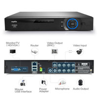 Wholesale SANNCE H CH P HDMI Output Security Video Recorder DVR CCTV System Remote