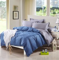 activity quilt - The new Fitted sheets activity staining solid double spelling plain cotton bedding a family of four Linen quilt Bedclothes sets