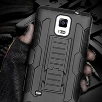 Cheap Future Military Armor Kickstand Cover Case For Samsung Galaxy Note 4 5 3 2 S5 S6 S6 Edge S6 Edge+ Plus S4 S3 S5 3 in 1 Hybrid