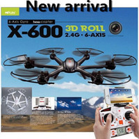airship rc - Original Upgrade FPV drone MJXX600 Quadcopter G hexacopter drone RTF RC helicopter axis can add C4005 camera with one key return button