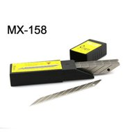 Wholesale MX Metal Carbon Steel Snap off Utility Sharp Knife Replacement Blade mm Blade Pack