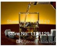 Wholesale 2013 NEW WHISKEY STONES WHISKY ROCKS SET OF DRINK COOLING ICE MELTS