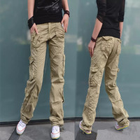 Wholesale Women Clothing Fashion Women s Camouflage Army Fatigue Cargo Pants Girls Harem Hip Hop Dance Sweat Pants Baggy Trousers