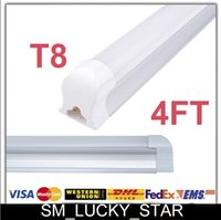 easter led lights - Easter Activity X25 FT T8 Led Integrated Tube Light Frosted Clear Cover W W W SMD Led Fluorescent Lamp Cold Warm White AC85 V