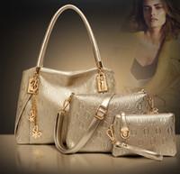 best handbag wholesale - New women handbags genuine leather handbag women messenger bags brand designs bag bags Handbag Messenger Bag Purse Sets best price
