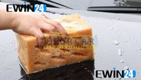 Wholesale 9cm Thick Durable Honeycomb Macroporous Coral Car Cleaning Washing Wash Soft Sponge Foam Polyester