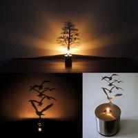amazing shadow - Romantic Dreamlike LED Shadow Magnolia Tree Saving Projector Reflection Night Light Amazing Fantastic Christmas Gift