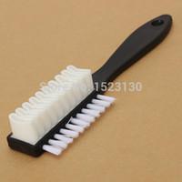 Wholesale Universal F Shape Side Shoe Cleaning Brush Suede Nubuck Boot Shoes Cleaner Eraser Polish order lt no track