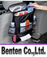 back seat storage bag - 2015 Hot insulation cold storage multifunction car car seat back storage bag Bag Zhiwu Dai car ice bag LLFA3168F