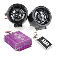 Wholesale Waterproof Motorcycle Audio Remote Sound System TF Card MP3 FM Radio Black