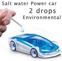 Wholesale Salt Water Power Toy Car Energy Power DIY Salt Water Powered Car Kits for Christmas Gift