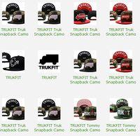 Cheap 18pcs lot camo trukfit snapback hat custom skate MISFIT hats snapbacks snap back cap mixed men women caps color 110