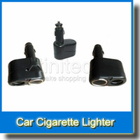 car cigarette lighter power adapter - 12 V Volt Car Cigarette Lighter Power Adapter Dual Socket Way Splitter