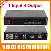 analog video splitter - 2016 New Arrival Mini Ch In And Ch Output Professional Analog HD Video Splitter Support HDCVI TVI AHD Camera BNC Output Max Up To m
