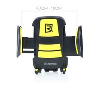 Wholesale Remax Universal Mobile Phone Holder Car Air Vent Mount Bracket for Samsung Galaxy S4 S5 Note for iPhone S S Plus GPS