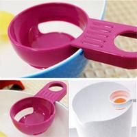 Wholesale Kitchen Cooking Tools Egg White Yolk Device Yolk Separator Practical Egg Dividers Vitellus