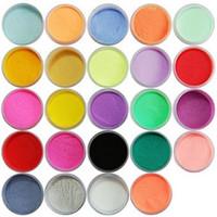 acrylic powder color - Color Acrylic Powder Dust Nail Art Decoration