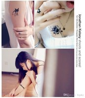 armed contact - waterproof tattoos Men and women tattoo paste waterproof contact mark tattoo stickers simulation