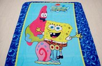 Wholesale Hot Sale minions blanket color thomas mickey car blankets sofia kt Doraemon princess pooh bedding sheet kid spiderman blankets Y0018