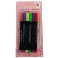 base painting - NEW Marker Pen Fabric T shirt Liner Marker colors set Non toxic pigment based ink drawing pens